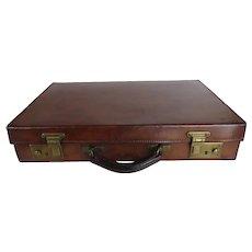 Vintage Norris of London Leather Briefcase Attache Bag