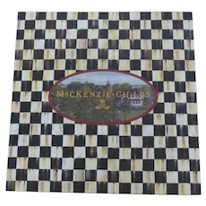 MacKenzie-Childs Large Courtly Check Check Gift Box