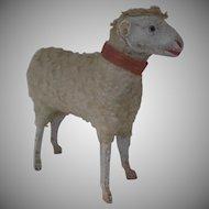 Vintage German Germany Putz Wooly Sheep 1900's