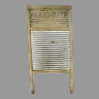 Vintage Maid-Rite Washboard No. 2222