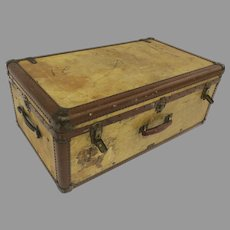 Early Hartmann 1900's Luggage Pullman Custom Made for Saks Fifth Ave.