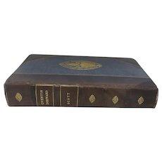 Quentin Durward by Walter Scott, Book, 1923, Leather Bound