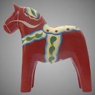 Vintage Dala Hand Painted Horse Madame Alexander