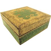 Vintage Italian Florentine Gilt Painted Small Box