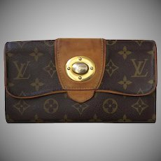 """Vintage Louis Vuitton Clutch Wallet Credit Cards """"Boetie"""" Clasp Hardware"""