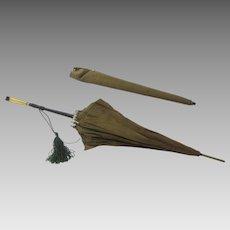 Vintage Umbrella Deco Handle Acetate