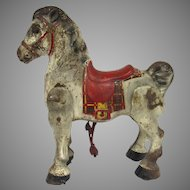 Vintage Mobo Pressed Steel Mechanical Horse Made in England