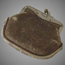 Vintage Small Leather Coin Purse