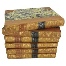 The History of England by David Hume 6 Volumes