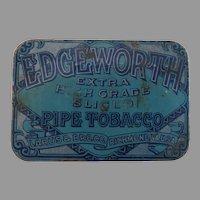 Vintage Advertising Tin Edgeworth Pipe Tobacco Larus & Bro. Co.