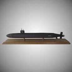 "USS  Nuclear Submarine ""Pasadena"" Model by George Allen"