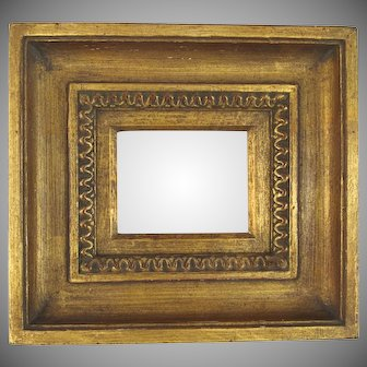 """Vintage Gilt Hand Carved Frame Overall 11"""" by 10"""""""