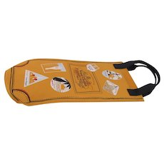 Champagne Veuve Clicquot Brut Insulated Travel Bag Picnic Lunch
