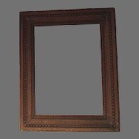 Vintage Beaded Edge Picture Frame