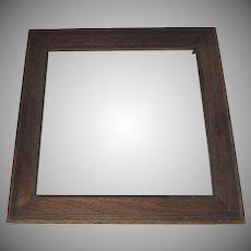 Vintage Nice Quality Oak Frame