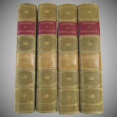 The History of England 4 Volumes Harriet Martineau 1864