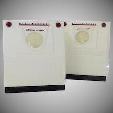 Vintage Salt Pepper Shakers Washer and Dryer Ideal Models