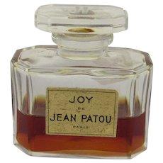 Vintage Joy Jean Patou Paris Perfume Bottle