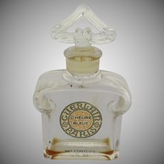 Vintage Guerlain L'Heure BleuePerfume Bottle
