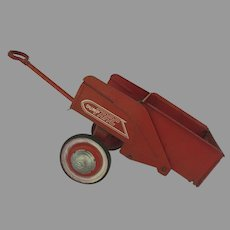Vintage AMF Dump Trac Red