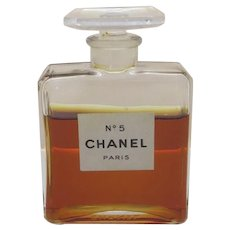Vintage Chanel No. 5 Bottle made in France