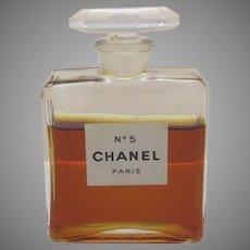 Vintage Chanel No. 5 Bottle made in France
