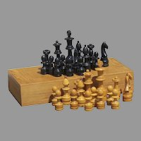 Mid Century Chess Board Large size