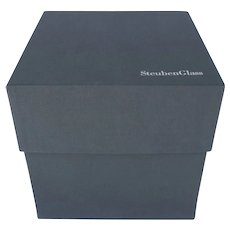 Large Steuben Presentation Box Empty