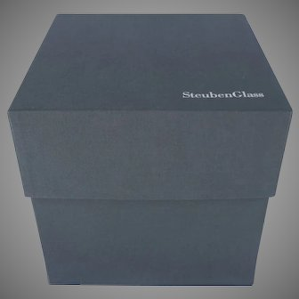 Large Steuben Presentation Box Empty