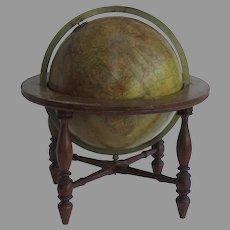 H. Schedler's Terrestrial Globe on Stand