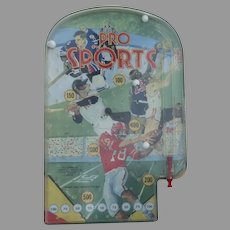 "Vintage Wolverine Metal Plastic ""Pro Sports"" Pinball Game Toy"