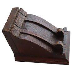 Vintage Oak Furniture Bracket Shelf Small Wall Bracket