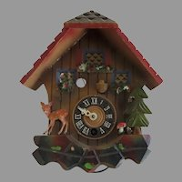Vintage Swiss Cuckoo Clock Restoration Parts
