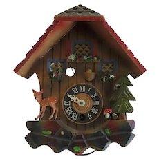 Vintage Swiss Cuckoo Clock Restoration Parts