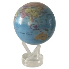 Mova World Globe on Acrylic Stand 4.5 inches