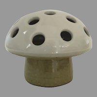 Mid Century Pottery Mushroom Form Votive by Vandor