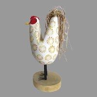 Vintage Edith John Navajo Folk Art Chicken Rooster Country