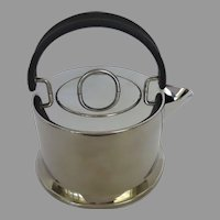 "Vintage Classic Stainless Tea Kettle by Bodum Italy ""Osiris"" Designed by C. Jorgensen"