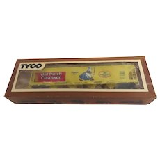 New in box Vintage OLD DUTCH CLEANSER Chases Dirt Billboard Train Box Car #365G By TYCO