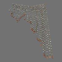 Turn of the Century Eucalyptus Beads Curtain Garland Re Purpose Project