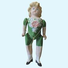 """Vintage Papier Mache Mexican Mexico Puta Doll Large 26"""""""