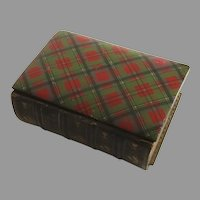Book Common Prayer Eyre and Spottiswoode MAUCHLINE Tartan Ware