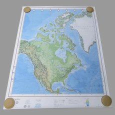 6 x Vintage 1982 Production of the US Dept. of Defense Maps