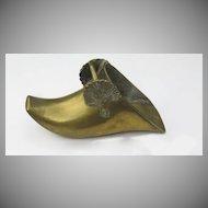 Spanish Brass Stirrup 17th 18th Century