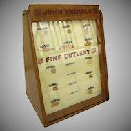 John Primble Fine Cutlery Store Display