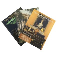 Vintage New Orleans Auction Galleries Catalogues 2001-2002 Group of Three