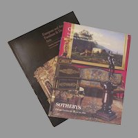 "Vintage Sotheby's Auction Catalogues ""Centuries of Style"" ""European & American Furniture & Decorative Arts"" Group of 2"
