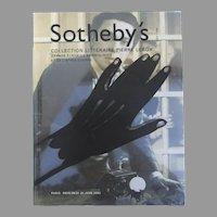 Vintage Sotheby's Collection Litteraire Pierre Leroy Paris June 26, 2002