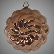 Vintage Copper Food Mold Made in Italy Italian