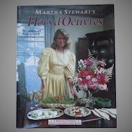Martha Stewart's Hors d'Oeuvres Cookbook 1984
